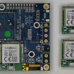 Go-IoT Cascoda Pi-HAT + 2 x Chili2Ds