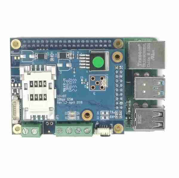 PI HAT OPT F with PG LTE on PI4