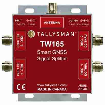1-to-4 signal splitter 10 dB