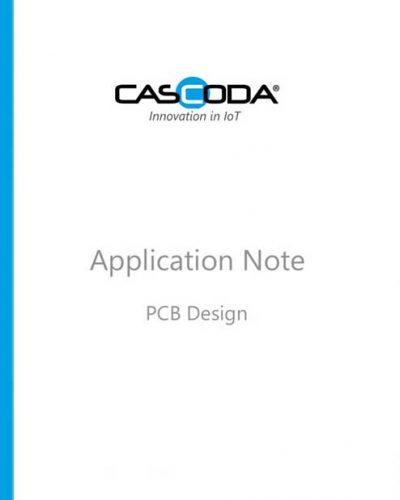 cascoda pcb design